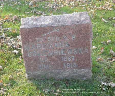 KUPINEWSKI GOLEMBIEWSKA, MARCIANNA - Lucas County, Ohio | MARCIANNA KUPINEWSKI GOLEMBIEWSKA - Ohio Gravestone Photos