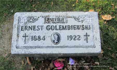 GOLEMBIEWSKI, ERNEST - Lucas County, Ohio | ERNEST GOLEMBIEWSKI - Ohio Gravestone Photos