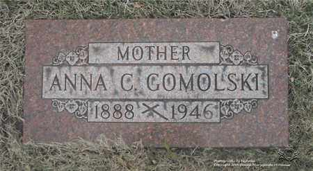 AUMILLER GOMOLSKI, ANNA C. - Lucas County, Ohio | ANNA C. AUMILLER GOMOLSKI - Ohio Gravestone Photos
