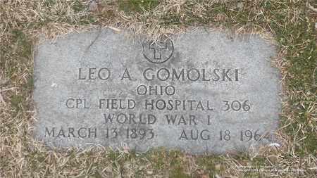 GOMOLSKI, LEO A. - Lucas County, Ohio | LEO A. GOMOLSKI - Ohio Gravestone Photos