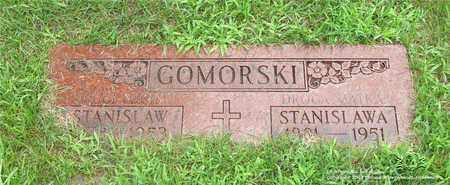 JAZWIECKI GOMORSKI, STANISLAWA - Lucas County, Ohio | STANISLAWA JAZWIECKI GOMORSKI - Ohio Gravestone Photos