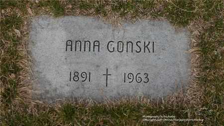 GONSKI, ANNA - Lucas County, Ohio | ANNA GONSKI - Ohio Gravestone Photos
