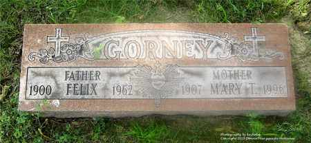 GORNEY, MARY THERESE - Lucas County, Ohio | MARY THERESE GORNEY - Ohio Gravestone Photos