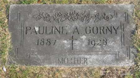 KINAST GORNY, PAULINE A. - Lucas County, Ohio | PAULINE A. KINAST GORNY - Ohio Gravestone Photos