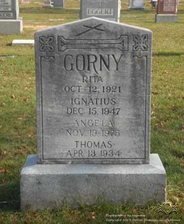 GORNY, ANGELA - Lucas County, Ohio | ANGELA GORNY - Ohio Gravestone Photos