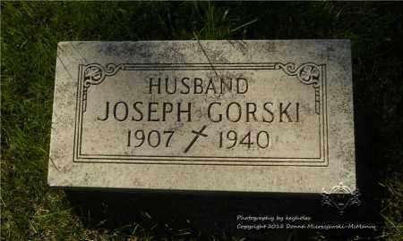 GORSKI, JOSEPH - Lucas County, Ohio | JOSEPH GORSKI - Ohio Gravestone Photos