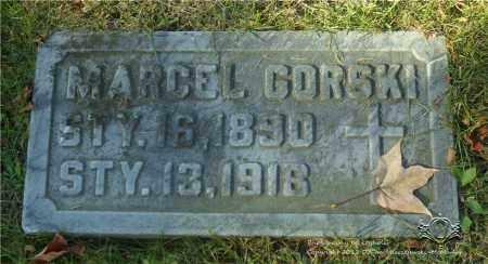 GORSKI, MARCEL - Lucas County, Ohio | MARCEL GORSKI - Ohio Gravestone Photos