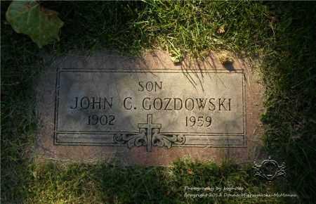 GOZDOWSKI, JOHN C. - Lucas County, Ohio | JOHN C. GOZDOWSKI - Ohio Gravestone Photos
