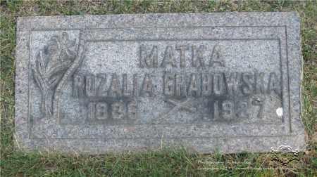GRABOWSKA, ROZALIA - Lucas County, Ohio | ROZALIA GRABOWSKA - Ohio Gravestone Photos