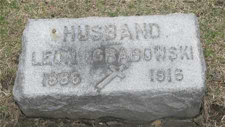 GRABOWSKI, LEON - Lucas County, Ohio   LEON GRABOWSKI - Ohio Gravestone Photos