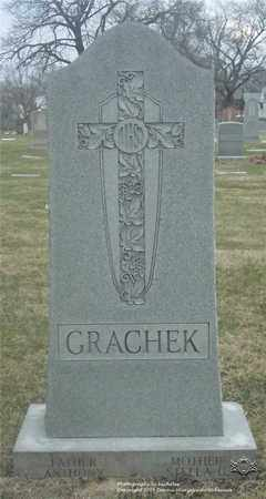 GRACHECK, ANTHONY - Lucas County, Ohio | ANTHONY GRACHECK - Ohio Gravestone Photos