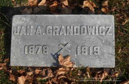 GRANDOWICZ, JAN A. - Lucas County, Ohio | JAN A. GRANDOWICZ - Ohio Gravestone Photos