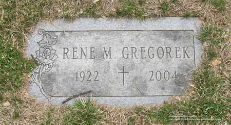 GRZEGOREK, RENE M. - Lucas County, Ohio | RENE M. GRZEGOREK - Ohio Gravestone Photos