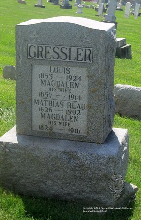 BLAU, MAGADLEN - Lucas County, Ohio | MAGADLEN BLAU - Ohio Gravestone Photos