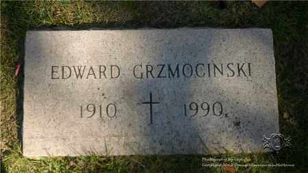 GRZMOCINSKI, EDWARD - Lucas County, Ohio | EDWARD GRZMOCINSKI - Ohio Gravestone Photos