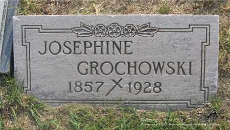 GROCHOWSKI, JOSEPHINE - Lucas County, Ohio | JOSEPHINE GROCHOWSKI - Ohio Gravestone Photos