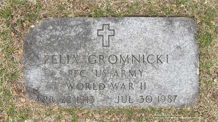 GROMNICKI, FELIX - Lucas County, Ohio | FELIX GROMNICKI - Ohio Gravestone Photos