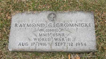GROMNICKI, RAYMOND G. - Lucas County, Ohio | RAYMOND G. GROMNICKI - Ohio Gravestone Photos