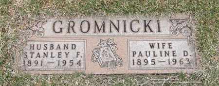 GROMNICKI, STANLEY F. - Lucas County, Ohio | STANLEY F. GROMNICKI - Ohio Gravestone Photos