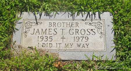 GROSS, JAMES T. - Lucas County, Ohio | JAMES T. GROSS - Ohio Gravestone Photos