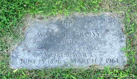 GROSS, WALTER - Lucas County, Ohio | WALTER GROSS - Ohio Gravestone Photos