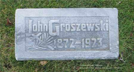 GROSZEWSKI, JOHN - Lucas County, Ohio | JOHN GROSZEWSKI - Ohio Gravestone Photos