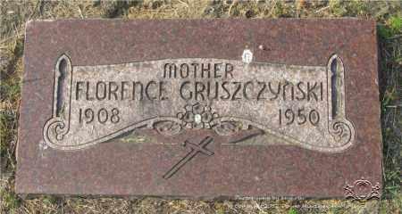 GRUSZCZYNSKI, FLORENCE - Lucas County, Ohio | FLORENCE GRUSZCZYNSKI - Ohio Gravestone Photos