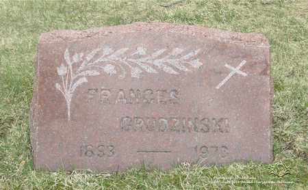 GRUDZINSKI, FRANCES - Lucas County, Ohio | FRANCES GRUDZINSKI - Ohio Gravestone Photos