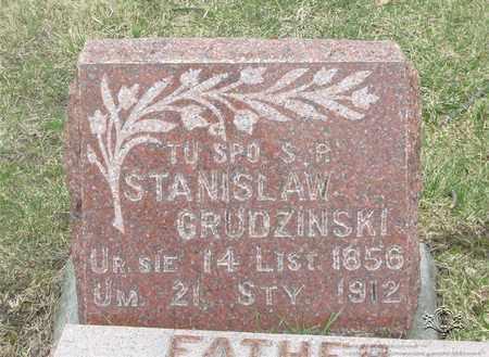 GRUDZINSKI, STANISLAW - Lucas County, Ohio | STANISLAW GRUDZINSKI - Ohio Gravestone Photos