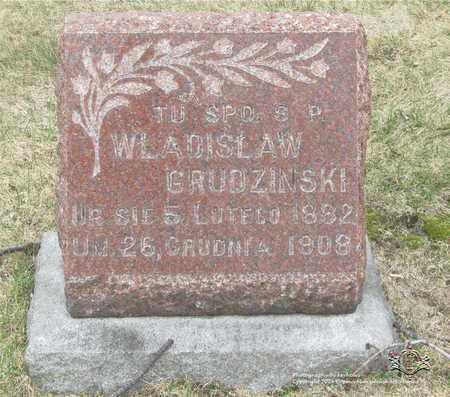 GRUDZINSKI, WLADISLAW - Lucas County, Ohio | WLADISLAW GRUDZINSKI - Ohio Gravestone Photos
