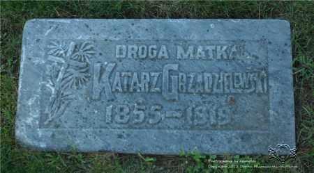 GRZADZIELEWSKI, KATARZYNA - Lucas County, Ohio | KATARZYNA GRZADZIELEWSKI - Ohio Gravestone Photos