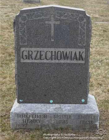 GRZECHOWIAK, LOUIS - Lucas County, Ohio | LOUIS GRZECHOWIAK - Ohio Gravestone Photos