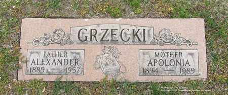 GRZECKI, APOLONIA - Lucas County, Ohio | APOLONIA GRZECKI - Ohio Gravestone Photos