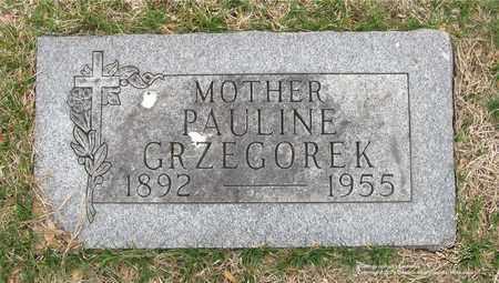 GRZEGOREK, PAULINE - Lucas County, Ohio | PAULINE GRZEGOREK - Ohio Gravestone Photos