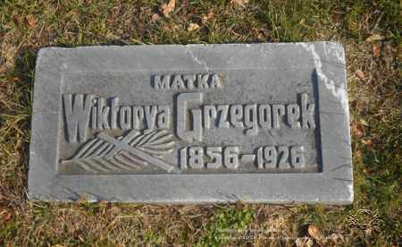 GRZEGOREK, WIKTORYA - Lucas County, Ohio | WIKTORYA GRZEGOREK - Ohio Gravestone Photos