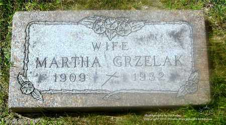 GRZELAK, MARCELLA MARTHA - Lucas County, Ohio | MARCELLA MARTHA GRZELAK - Ohio Gravestone Photos