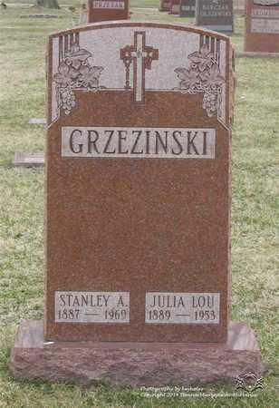 BUSSIEKER GRZEZINSKI, JULIA LOU - Lucas County, Ohio | JULIA LOU BUSSIEKER GRZEZINSKI - Ohio Gravestone Photos