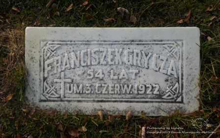 GRZYCZA, FRANCISZEK - Lucas County, Ohio | FRANCISZEK GRZYCZA - Ohio Gravestone Photos