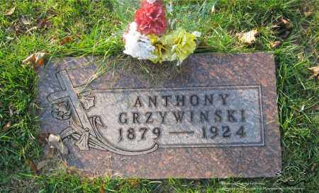 GRZYWINSKI, ANTHONY - Lucas County, Ohio | ANTHONY GRZYWINSKI - Ohio Gravestone Photos