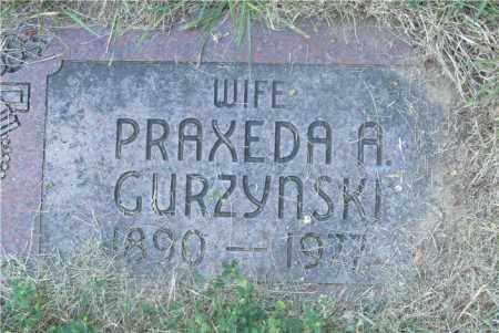 GURZYNSKI, PRAXEDA A. - Lucas County, Ohio | PRAXEDA A. GURZYNSKI - Ohio Gravestone Photos