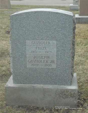 GUZIOLEK, FELIX - Lucas County, Ohio | FELIX GUZIOLEK - Ohio Gravestone Photos