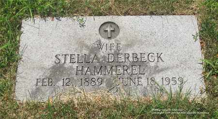 DERBECK HAMMEREL, STELLA - Lucas County, Ohio | STELLA DERBECK HAMMEREL - Ohio Gravestone Photos