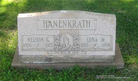 HANENKRATH, EDNA M. - Lucas County, Ohio | EDNA M. HANENKRATH - Ohio Gravestone Photos