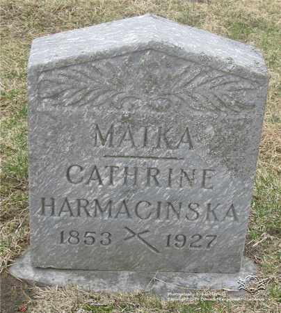 HARMACINSKA, CATHERINE - Lucas County, Ohio | CATHERINE HARMACINSKA - Ohio Gravestone Photos