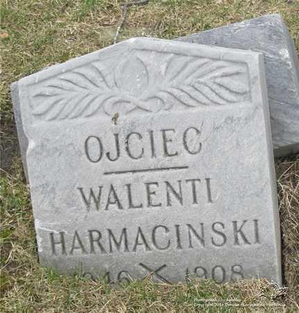 HARMACINSKI, WALENTI - Lucas County, Ohio | WALENTI HARMACINSKI - Ohio Gravestone Photos