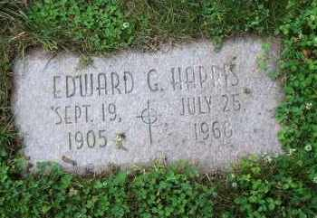HARRIS, EDWARD GEORGE - Lucas County, Ohio | EDWARD GEORGE HARRIS - Ohio Gravestone Photos