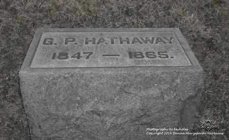 HATHAWAY, G.P. - Lucas County, Ohio | G.P. HATHAWAY - Ohio Gravestone Photos