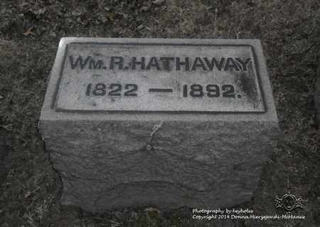 HATHAWAY, WM. R. - Lucas County, Ohio | WM. R. HATHAWAY - Ohio Gravestone Photos