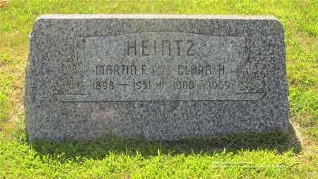 HEINTZ, MARTIN F. - Lucas County, Ohio | MARTIN F. HEINTZ - Ohio Gravestone Photos
