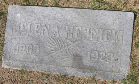 HEJNICKI, HELEN A. - Lucas County, Ohio | HELEN A. HEJNICKI - Ohio Gravestone Photos